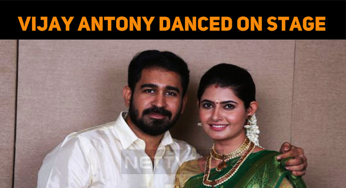 Vijay Antony Grooved With Ashima On Stage!