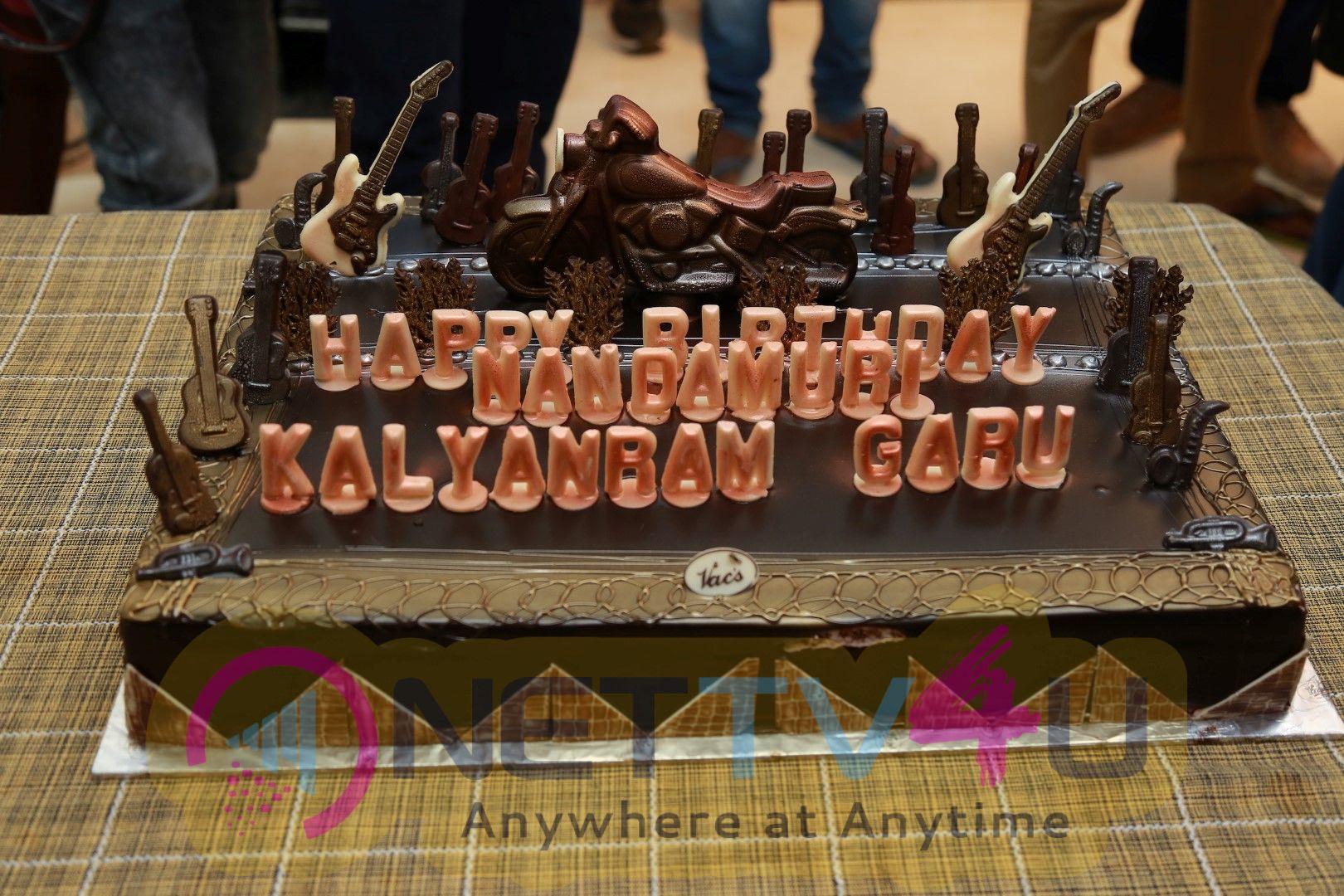Nandamuri Kalyan Ram Birthday Celebration On NKR 16 Sets Cute Images Telugu Gallery