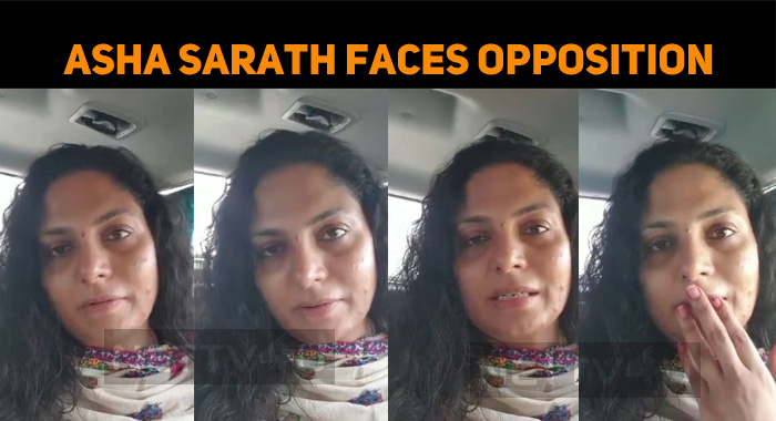 Asha Sarath Faces Opposition For Misusing Social Media!
