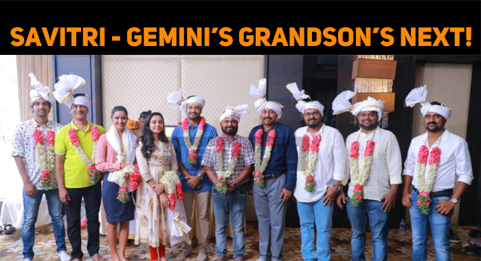 Savitri - Gemini Ganesan Grandson Signs His Next!