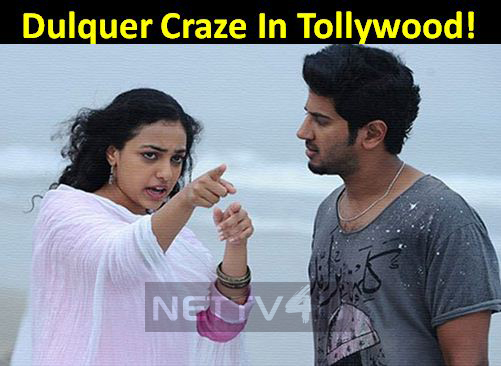 Dulquer Craze In Tollywood!