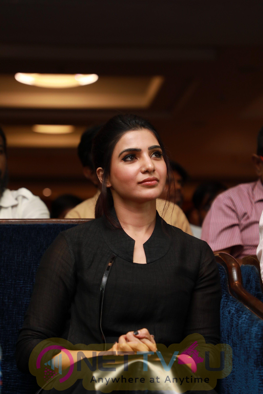 U-Turn Movie Press Meet Stills Tamil Gallery