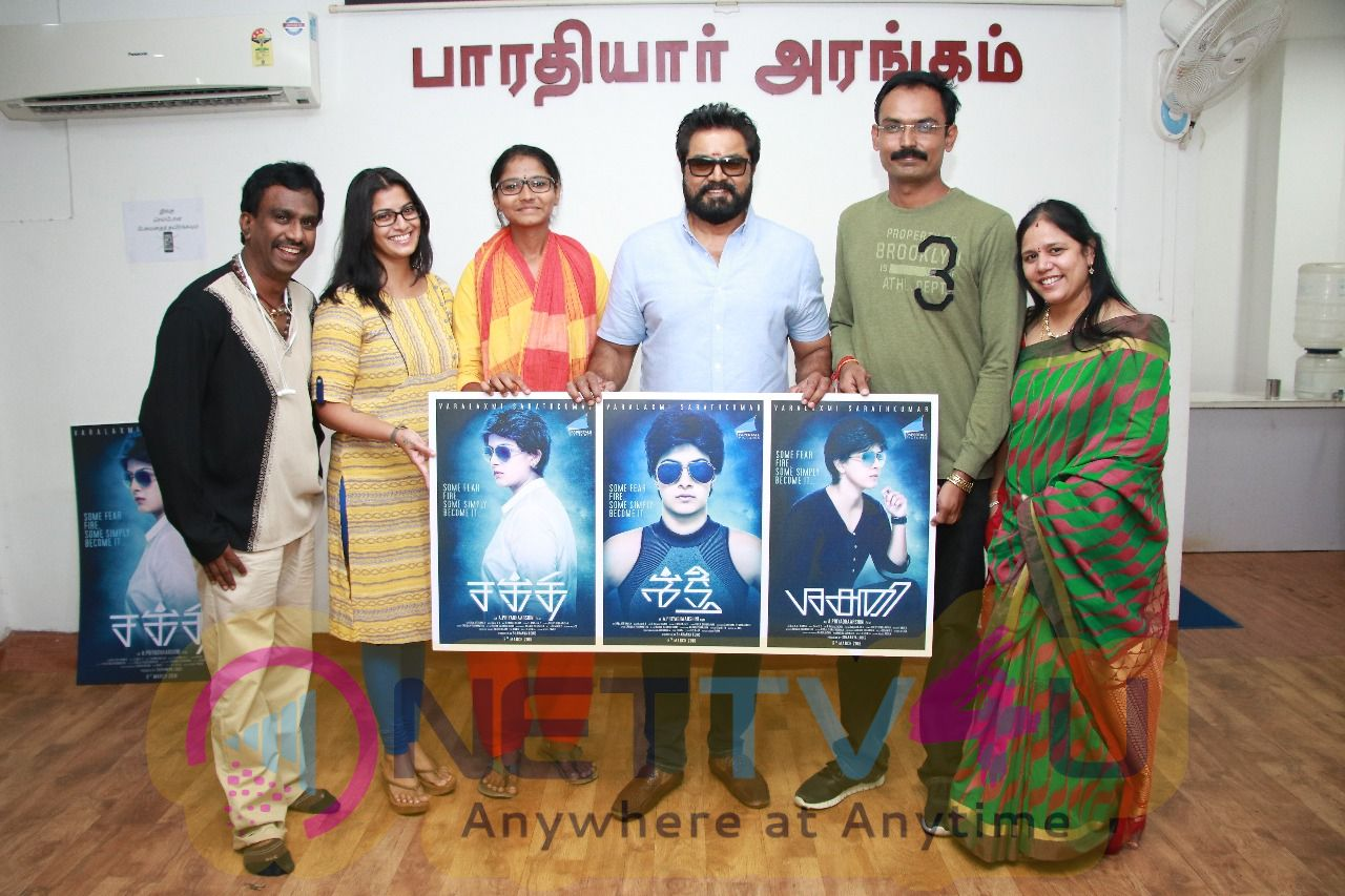 Actor Sarathkumar Appreciated Shakthi Movie Team Stills