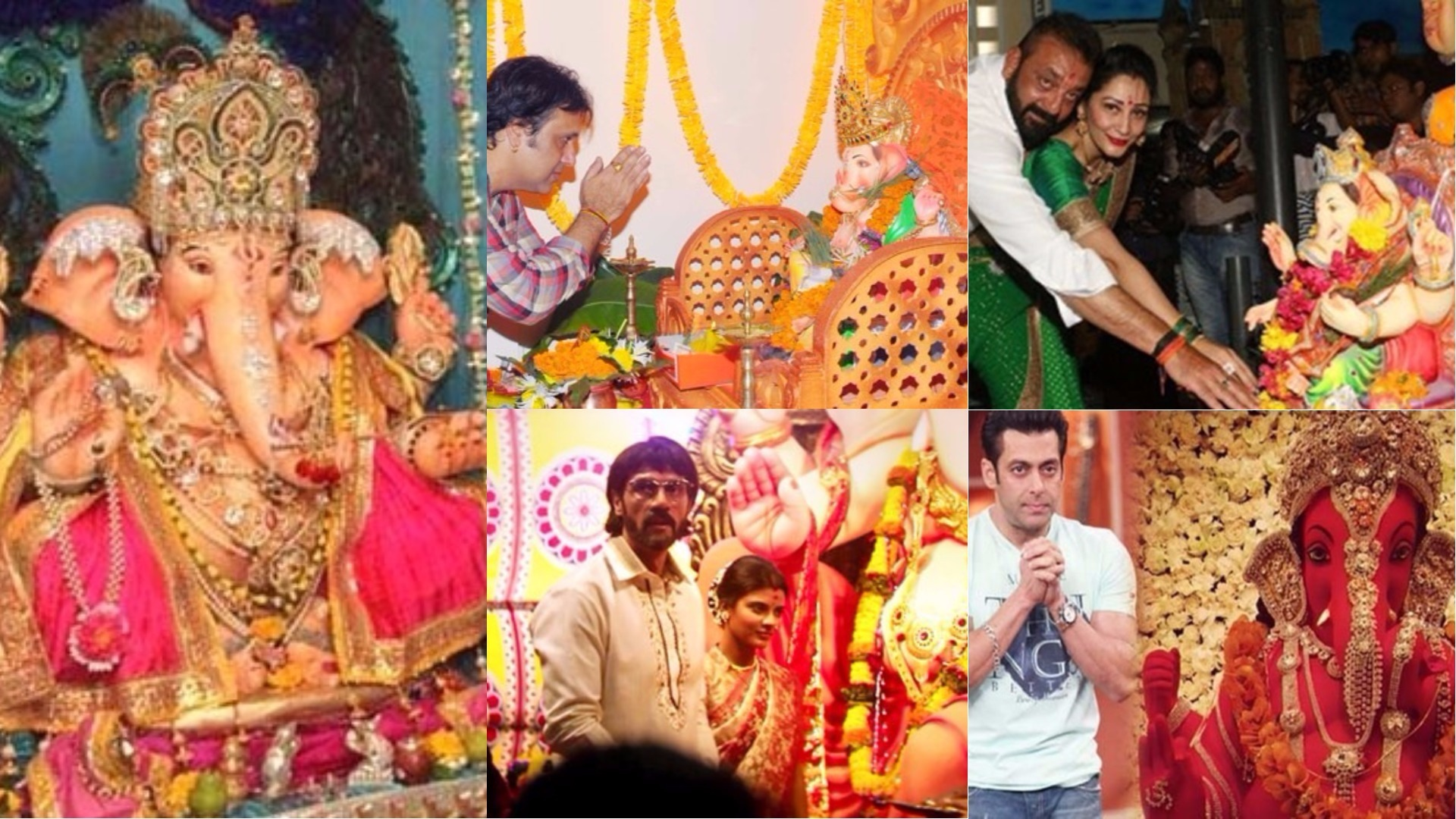 Top 10 Bollywood Actors Who Brought Lord Ganesh To Their Home 2017