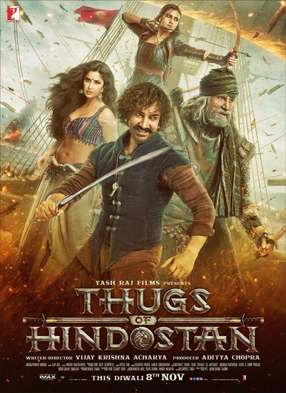 Thugs Of Hindostan Movie Review Hindi Movie Review