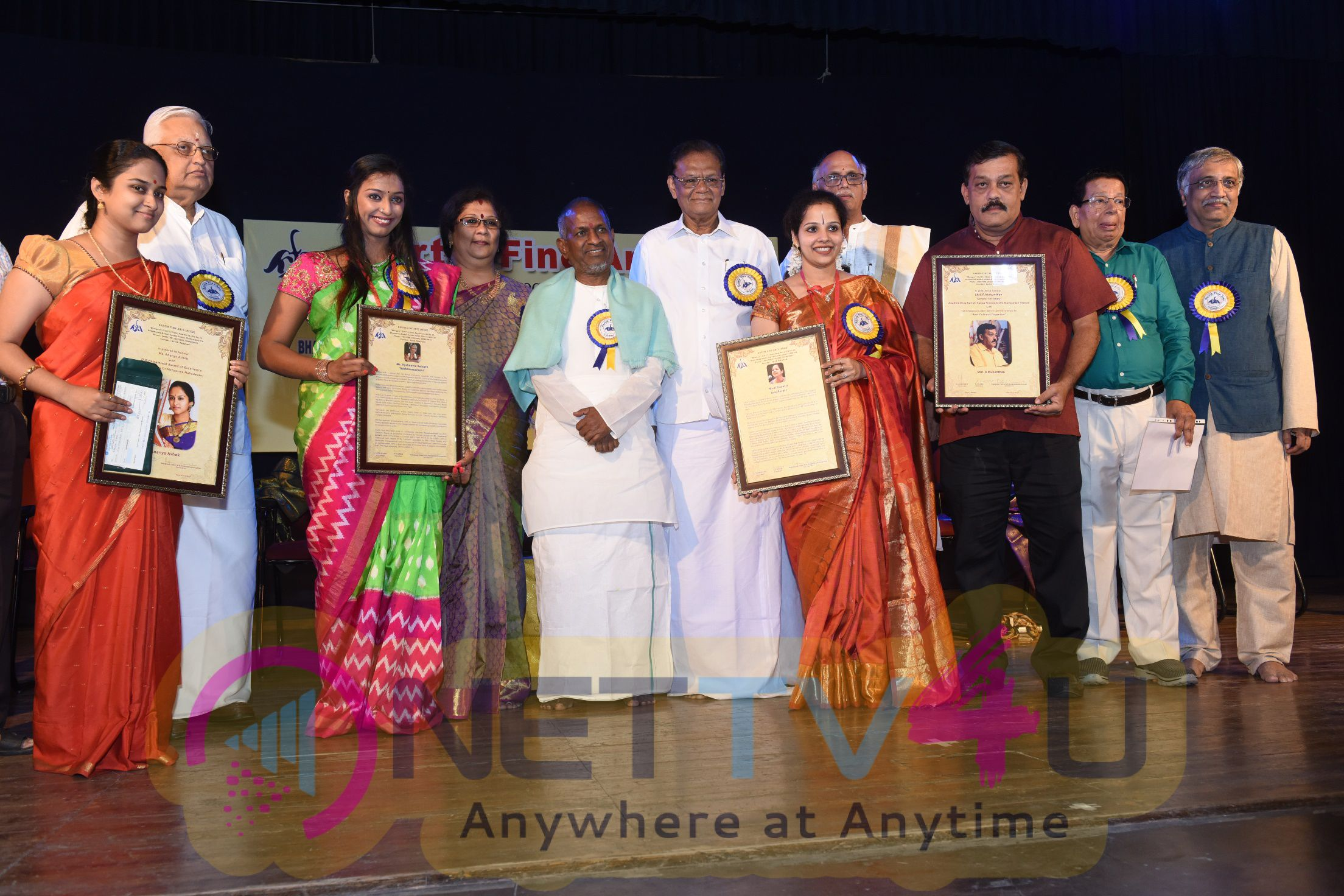 Ilayaraja Inagurates Function Of Karthik Fine Arts Followed By Swappnam Classic Pics