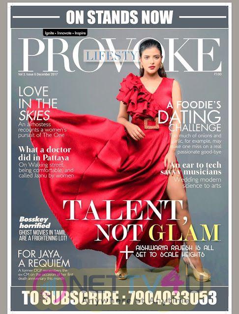 Actress Aishwarya Rajesh Photoshoot For Provoke Magazine