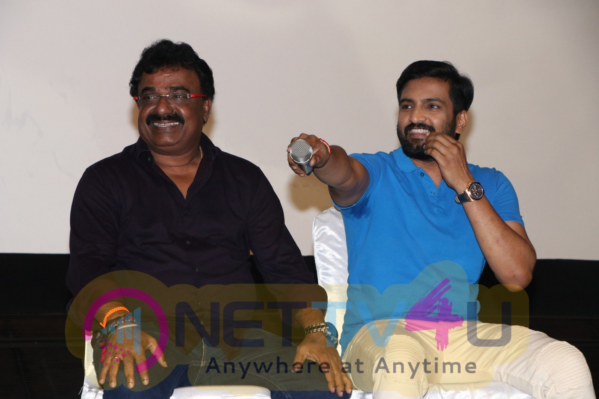 Sakka Podu Podu Raja Movie Press Meet Pics