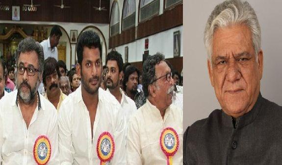 Nadigar Sangam Condoles For Bollywood Actor Om Puri's Death!