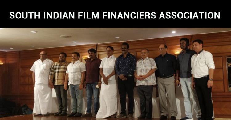 South Indian Film Financiers Association Launch..