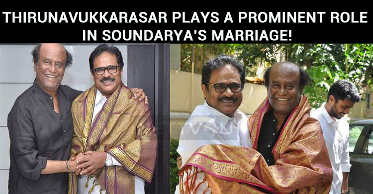 Thirunavukkarasar Plays A Prominent Role In Soundarya's Marriage!