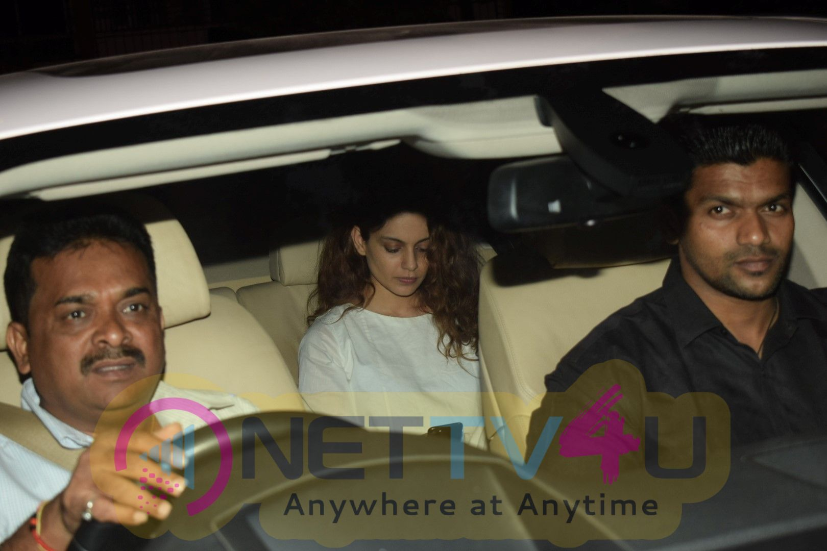 Aamir Khan & Kangana Spotted At Sridevi House In Andheri