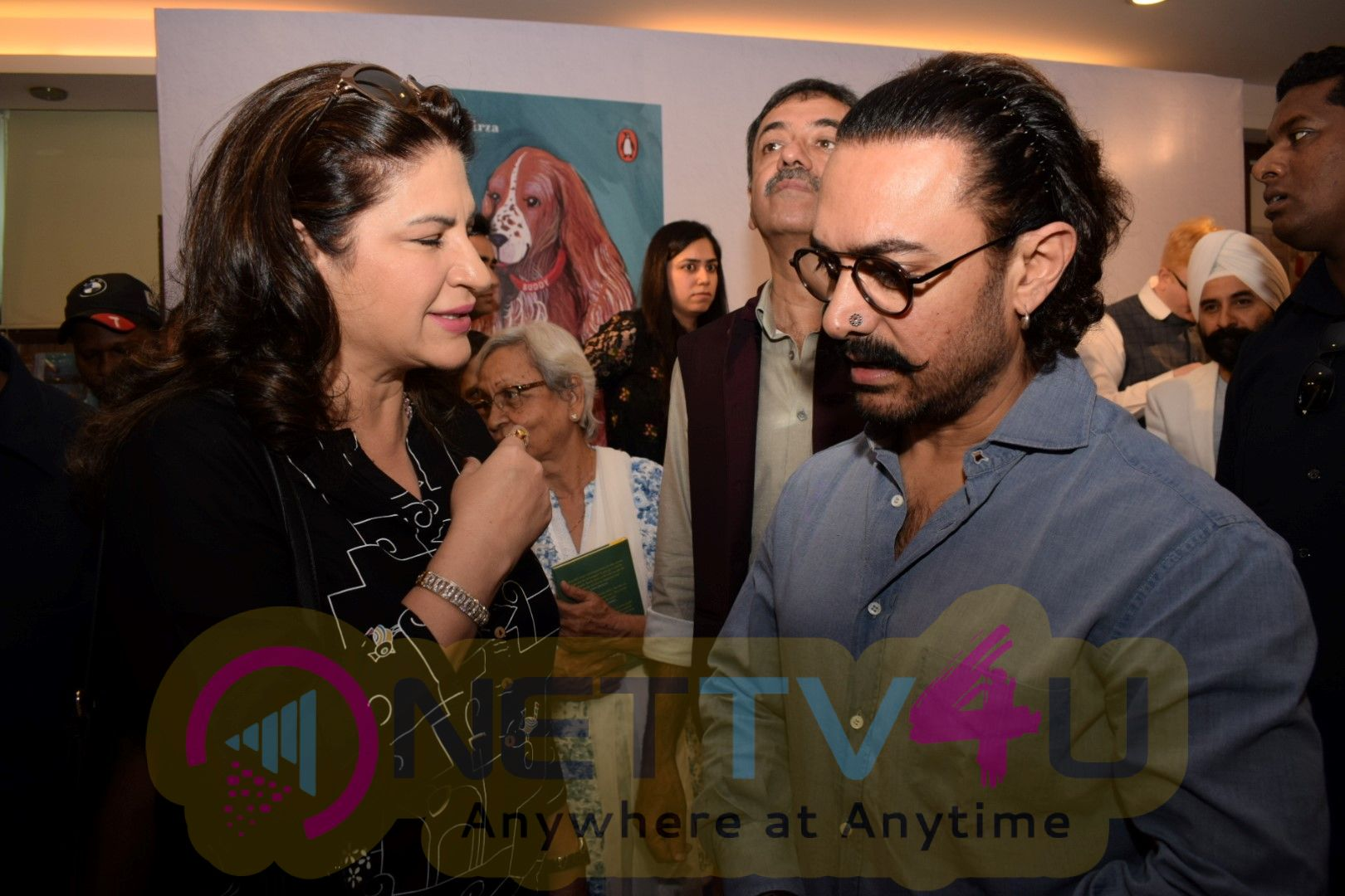 Aamir Khan At How To Be A Human Book Launch Hindi Gallery