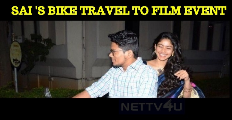 Sai Pallavi's Bike Travel With Her Assistant!
