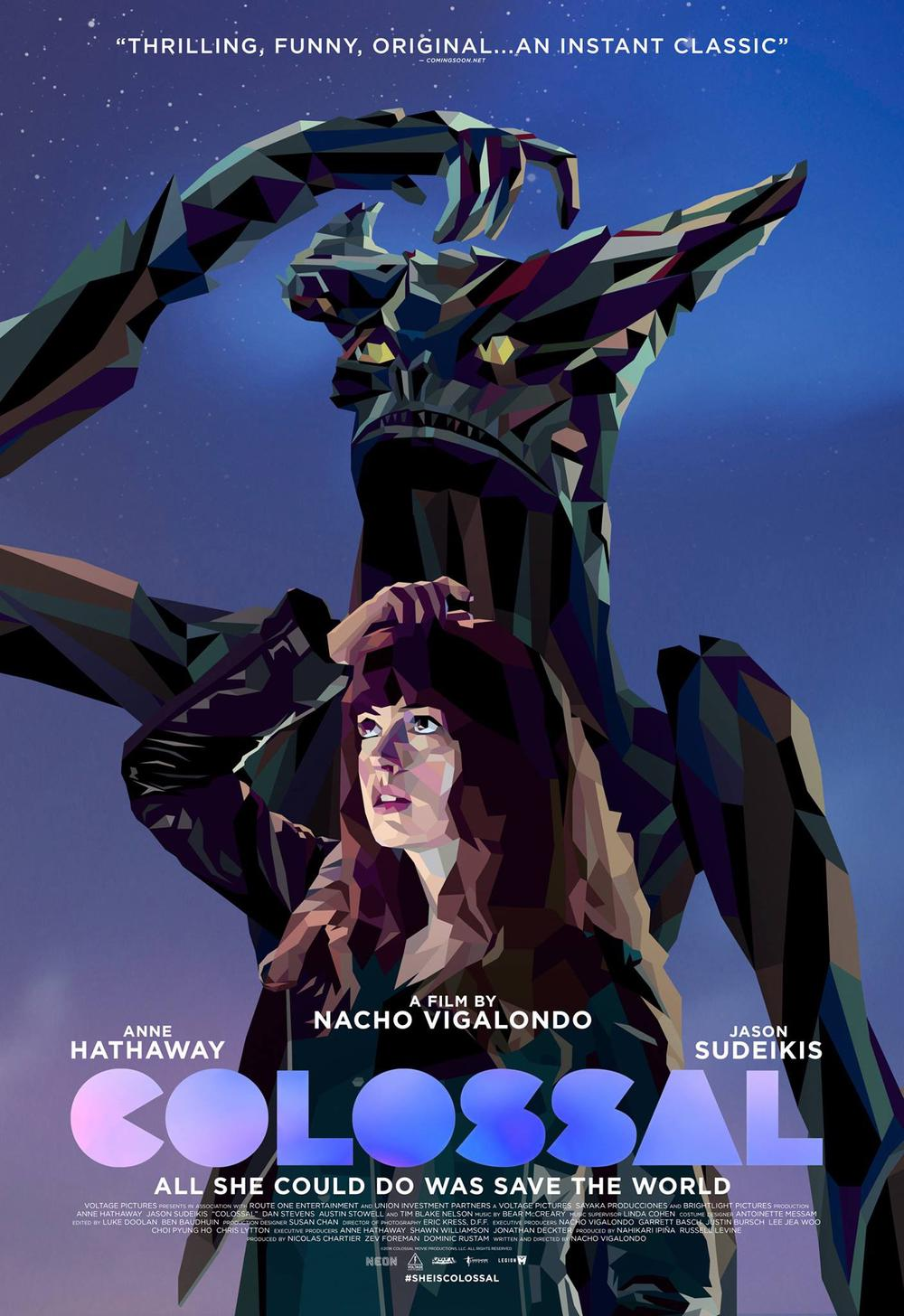 Colossal Movie Review English Movie Review