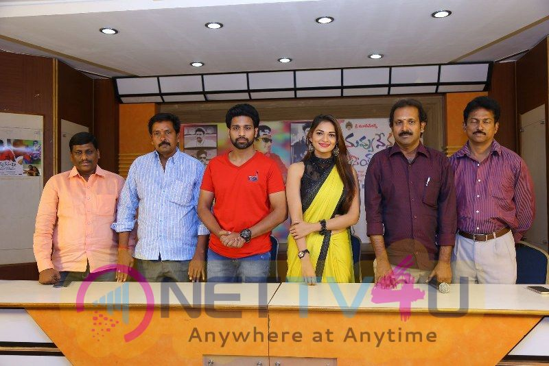 Nuvvu Nenu Osey Orey Movie Press Meet Grand Photos
