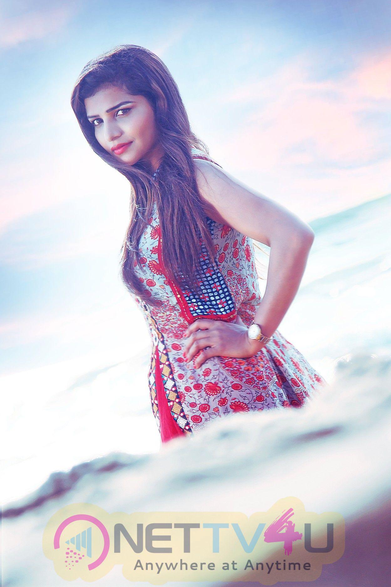 Actress Anju Kriti Gowda Good Looking Images