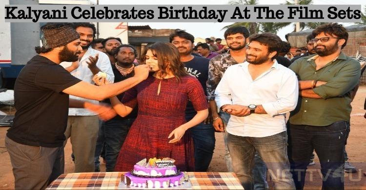Kalyani Priyadarshan Celebrated Her Birthday Wi..