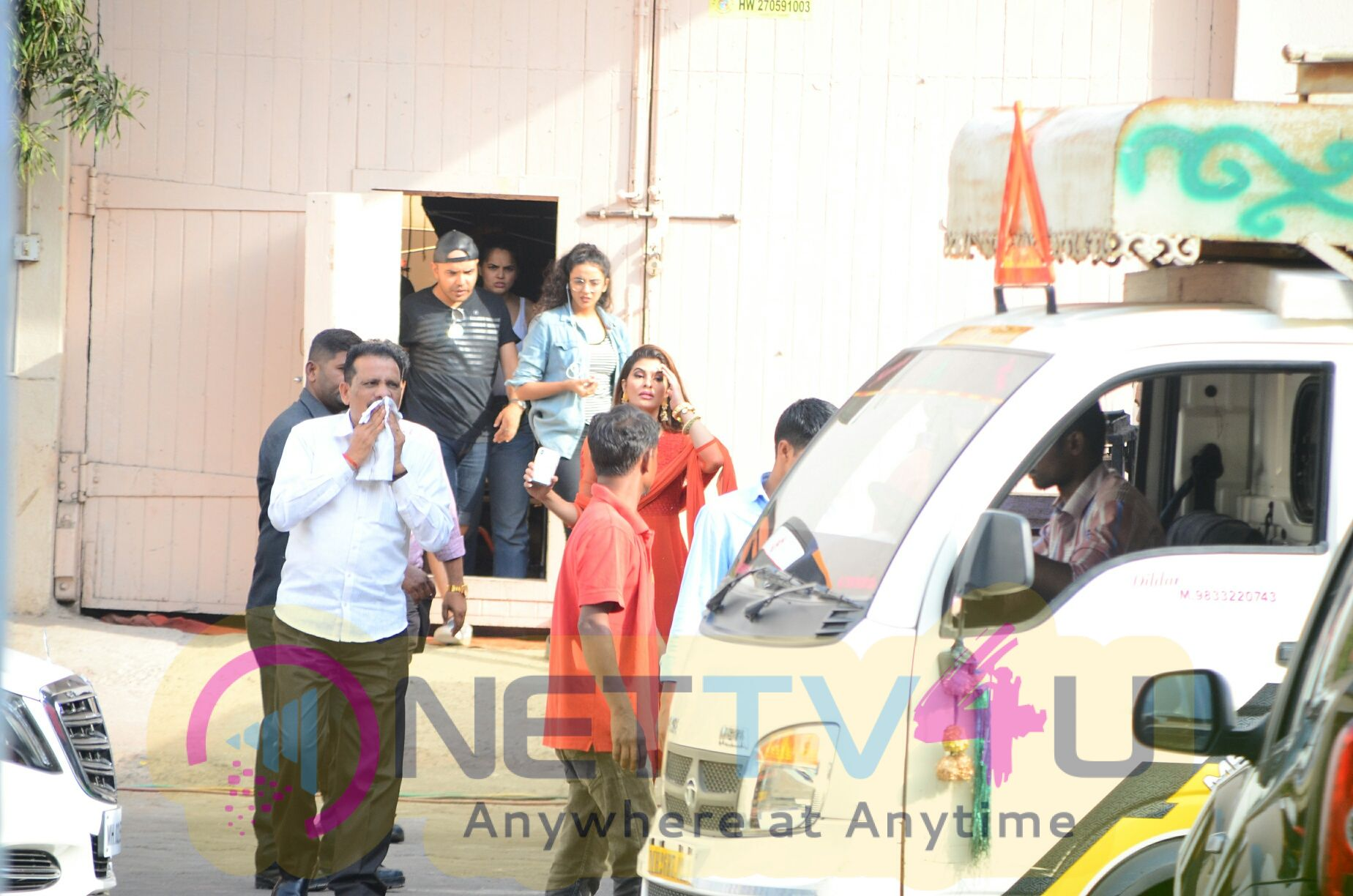 Jacqueline Fernandez Came to Mehboob Studio Images  English Gallery
