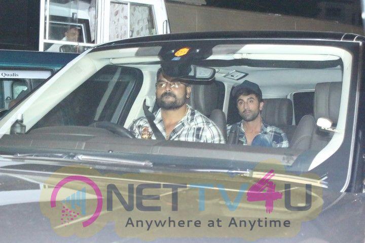 Ranbir Kapoor And Alia Bhatt Came To Mehboob Studio Photos