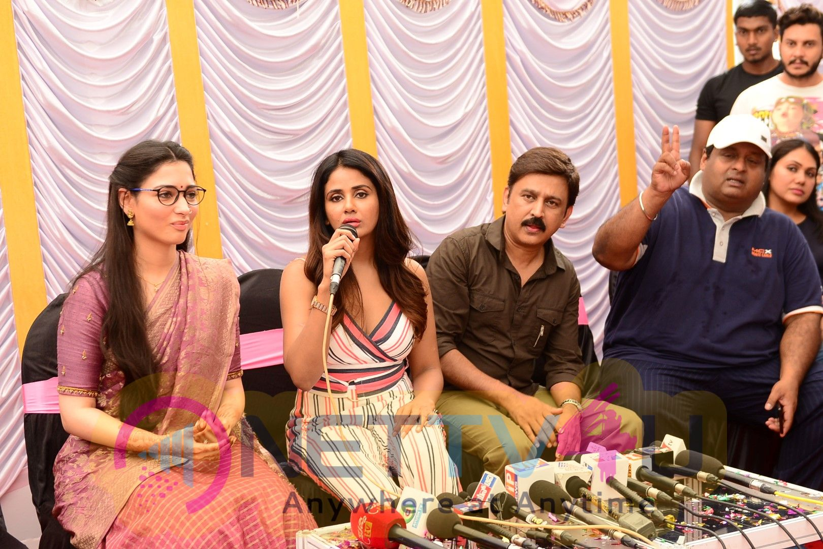 That Is Mahalakshmi Movie Press Meet Stills