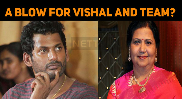 A Great Blow For Vishal And Team?