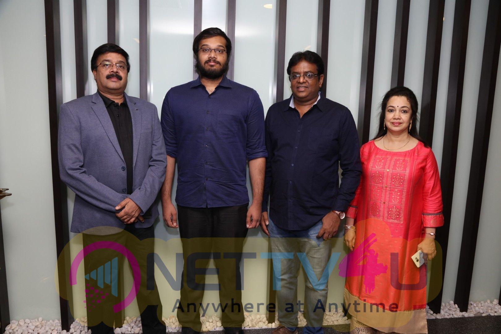 Celebrities At Anumanum Mayilravananum Special Show Stills