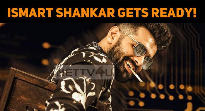 Team ISmart Shankar Gets Ready!