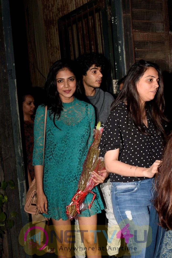 Ishaan Khattar & Malvika Mohnan spotted at Pali Village cafe in bandra Pics