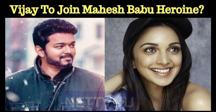 Vijay To Join Mahesh Babu Heroine?
