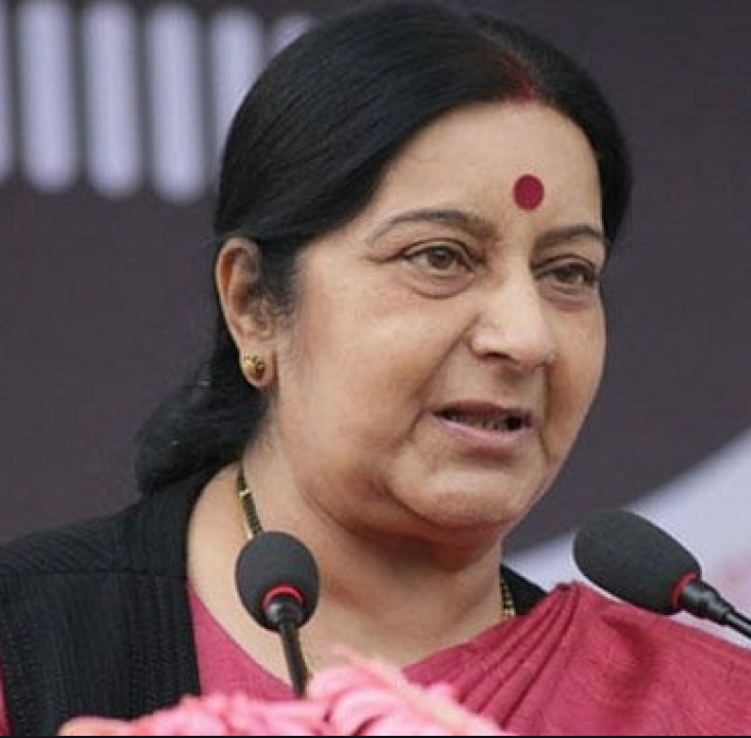 Sushma Swaraj Hindi Actor