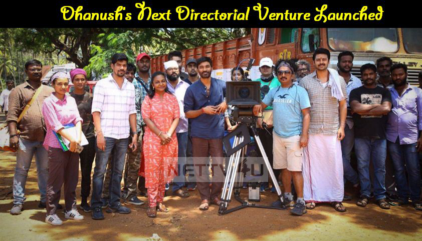 Dhanush's Next Directorial Venture With Huge Star Cast Launched!