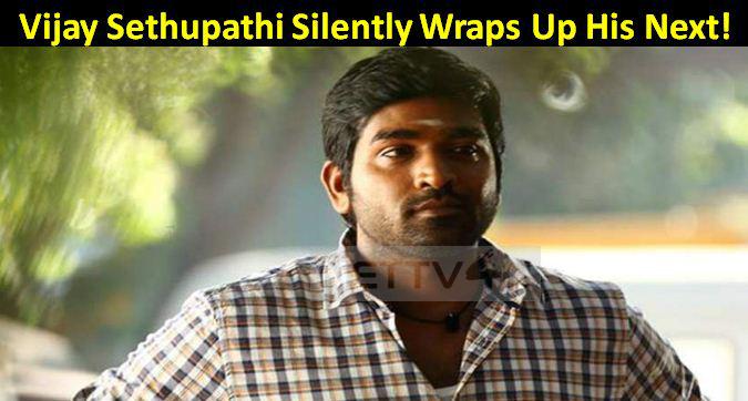 Vijay Sethupathi Silently Wraps Up His Next!