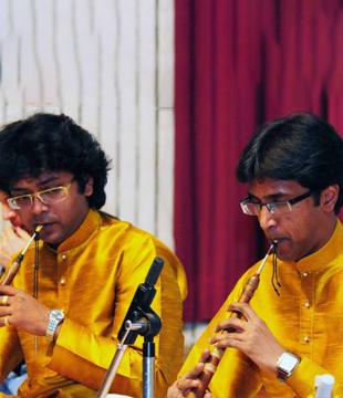 Musicians Sanjeev Shankar