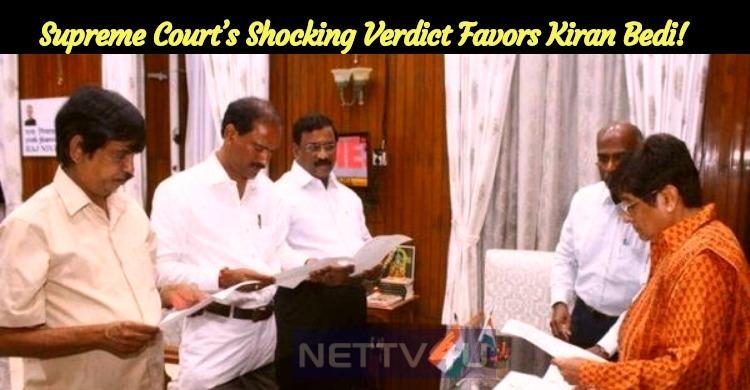 Supreme Court's Shocking Verdict Favors Kiran Bedi!