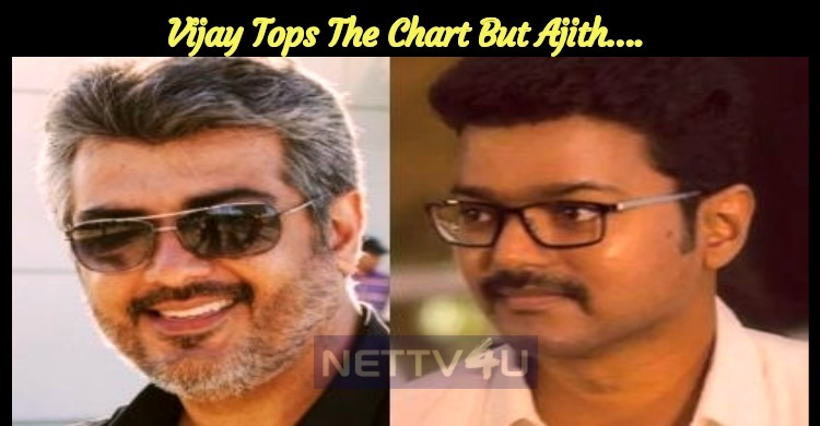 Vijay Tops The Chart But Ajith….