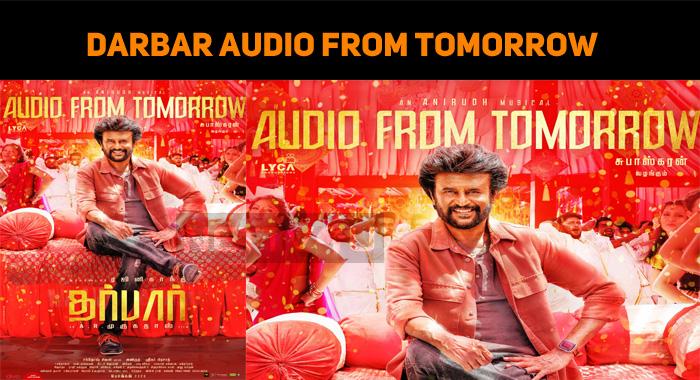 Darbar Audio From Tomorrow!