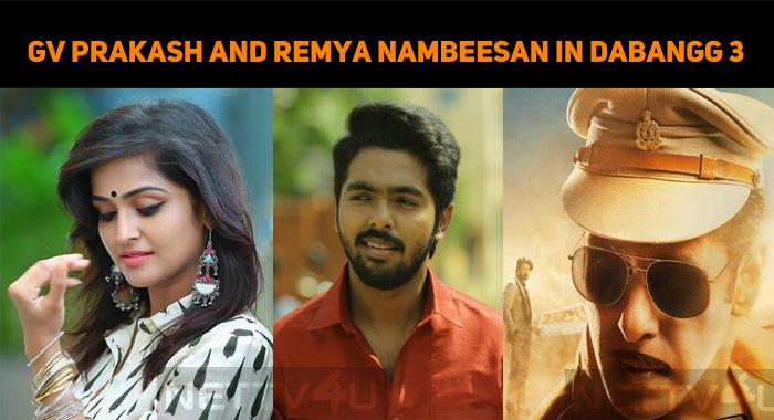 GV Prakash And Remya Nambeesan Croon For Dabang..
