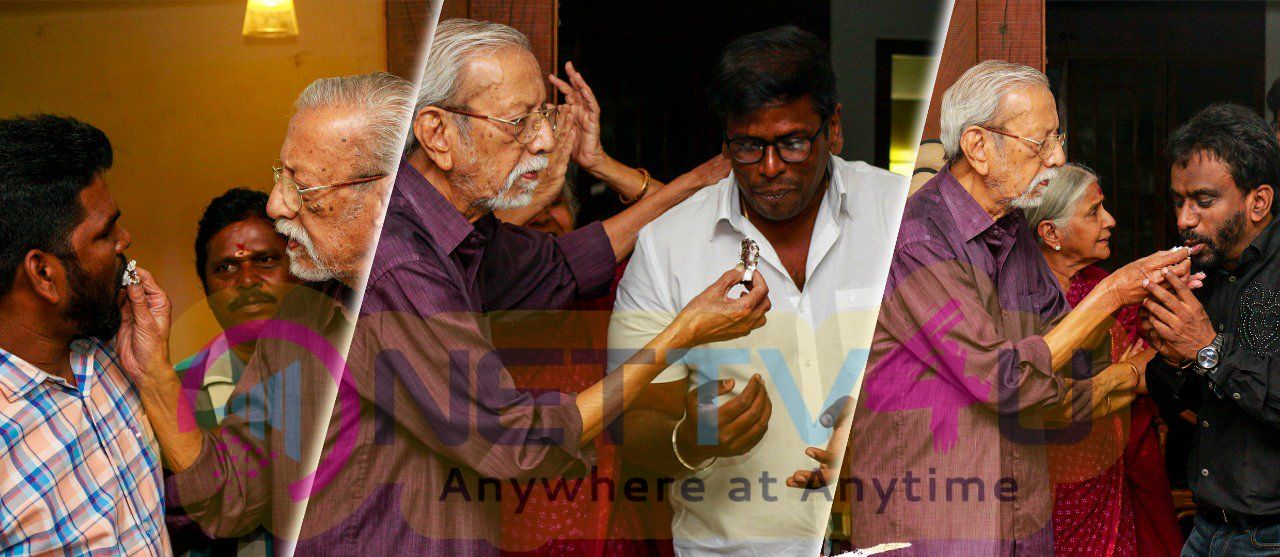 Actor Charuhasan Birthday Celebration Images Tamil Gallery