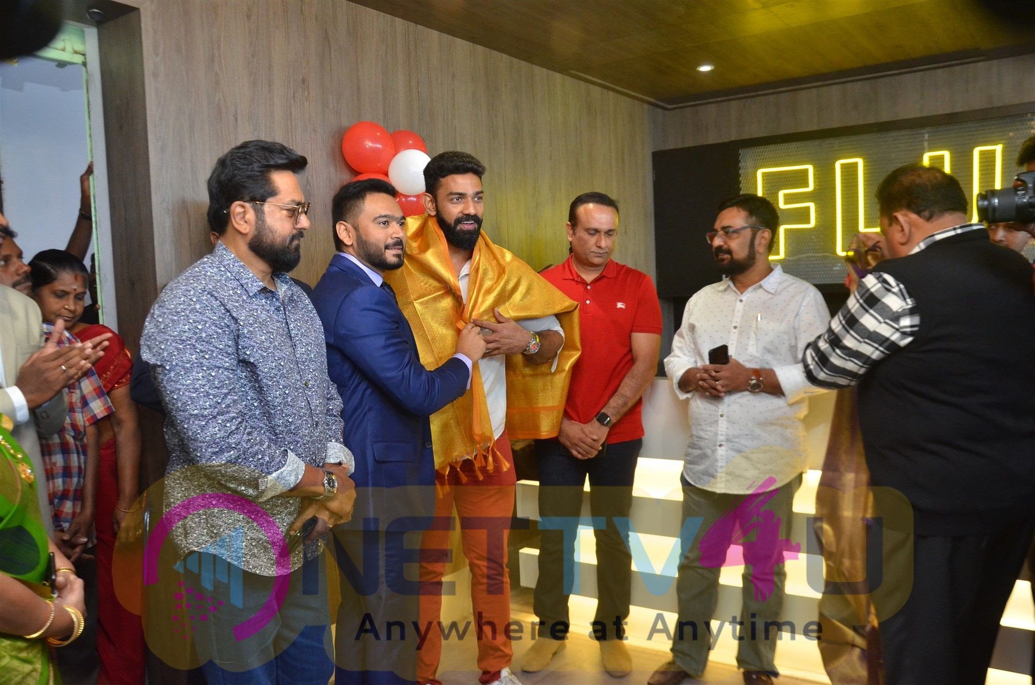 Actor Sarathkumar Inaugurated Flux Fitness Studio At OMR Images Tamil Gallery