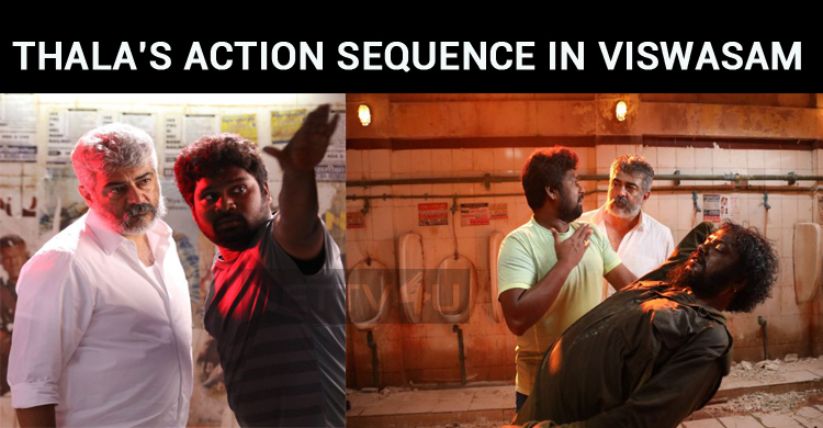 Ajith's Action Sequence Is A Treat To Watch!