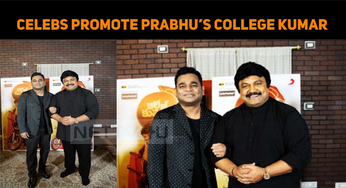 Prabhu's College Kumar Gets Promoted Well!