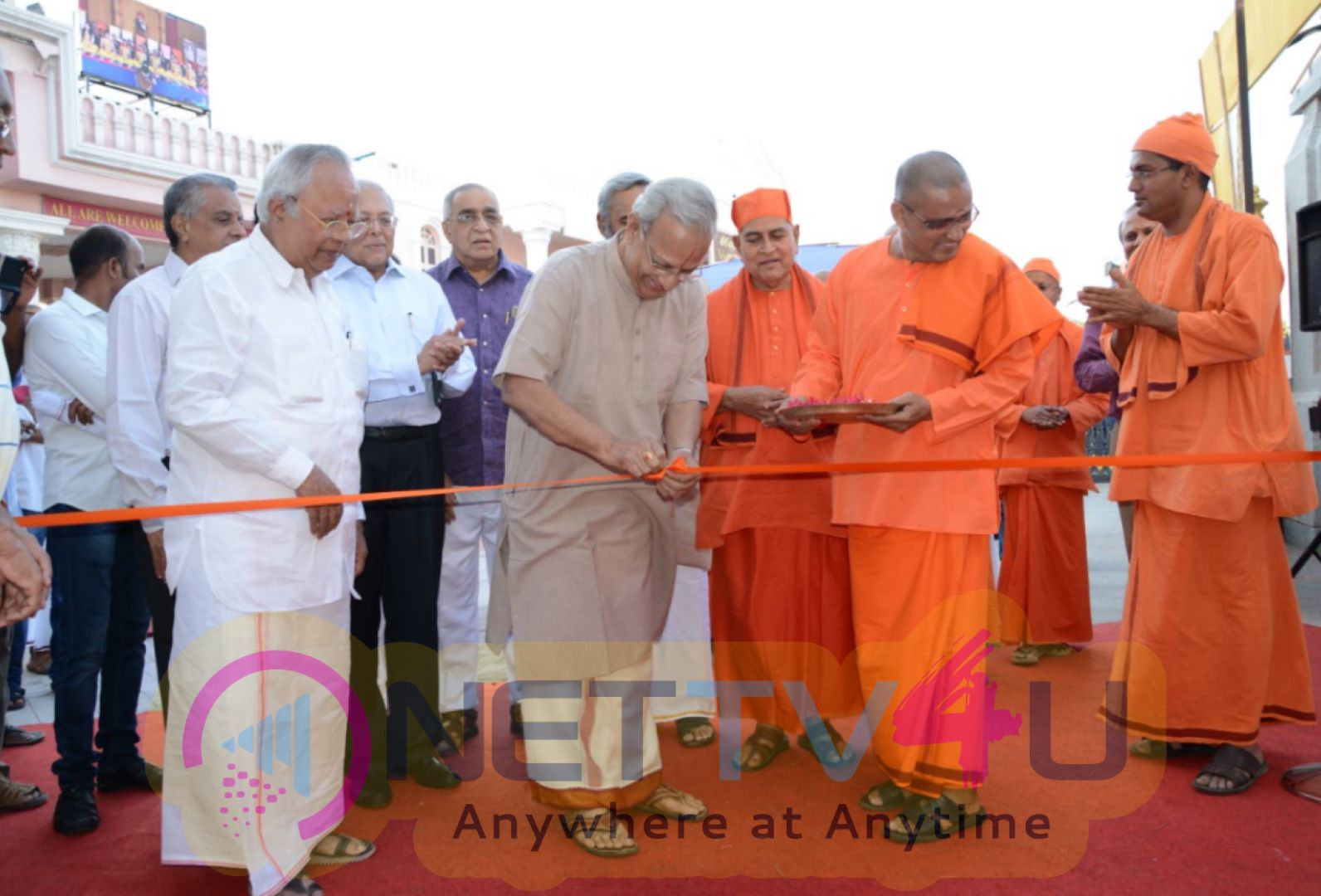 Inauguration Of Vivekananda Navaratri & Divine Book Festival Opening Pics