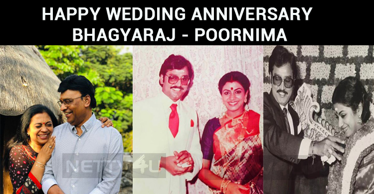 Bhagyaraj And Poornima Celebrate Their 35th Wedding Anniversary Today!