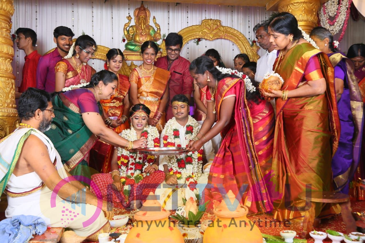 Director E.Ramadass Son Marriage Function Pics Tamil Gallery