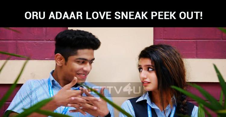 Priya Prakash Varrier's Oru Adaar Love Sneak Pe..