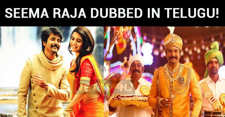 Seema Raja Gets Dubbed In Telugu!