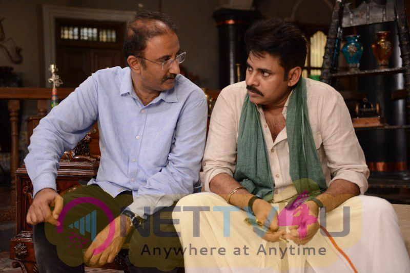 New Movie Katamarayudu Working Photo