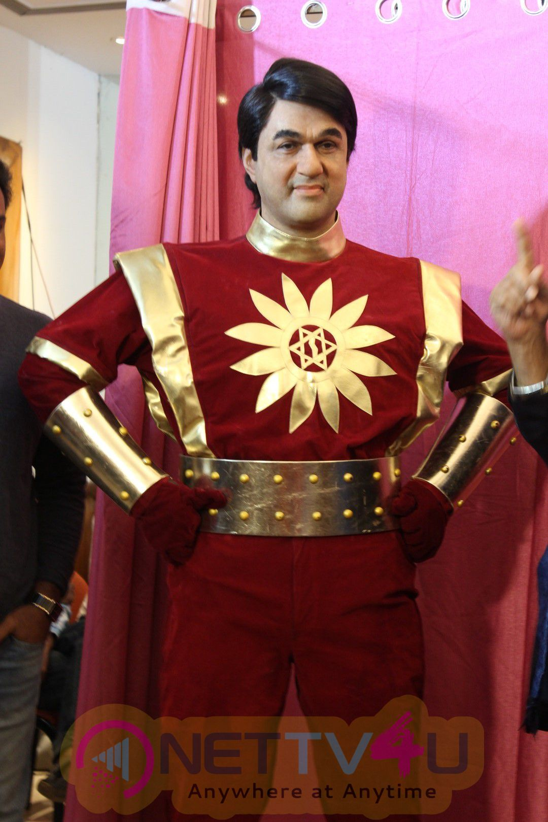 Excellent Photos Of Mukhesh Khanna Will Inaugurate His Website Shaktiman Wax Statue