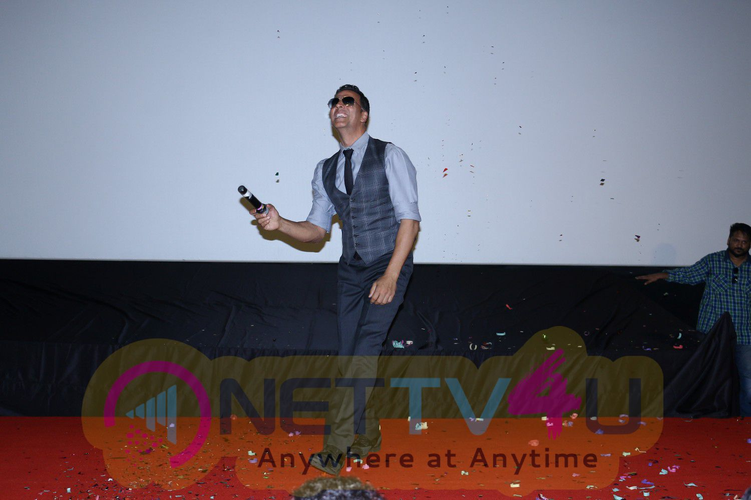 Photos Of Song Launch Cheez Badi Hai Mast Mast With Akshay Kumar, Mustafa & Kiara Advani